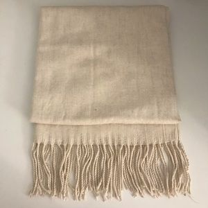 The Lemon Collections Twill Cashmere Scarf